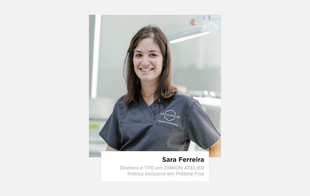 Sara Ferreira - técnica de prótese dentária