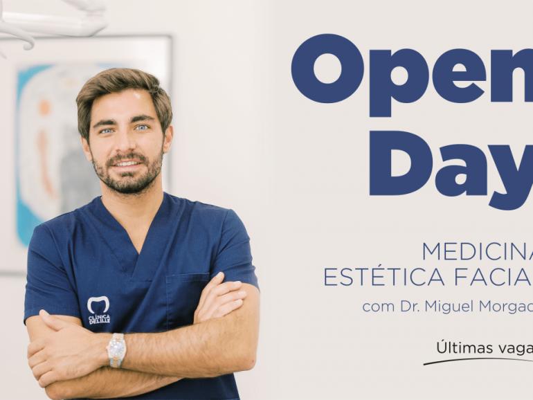 Chegou o grande Open Day de Medicina Estética Facial.
